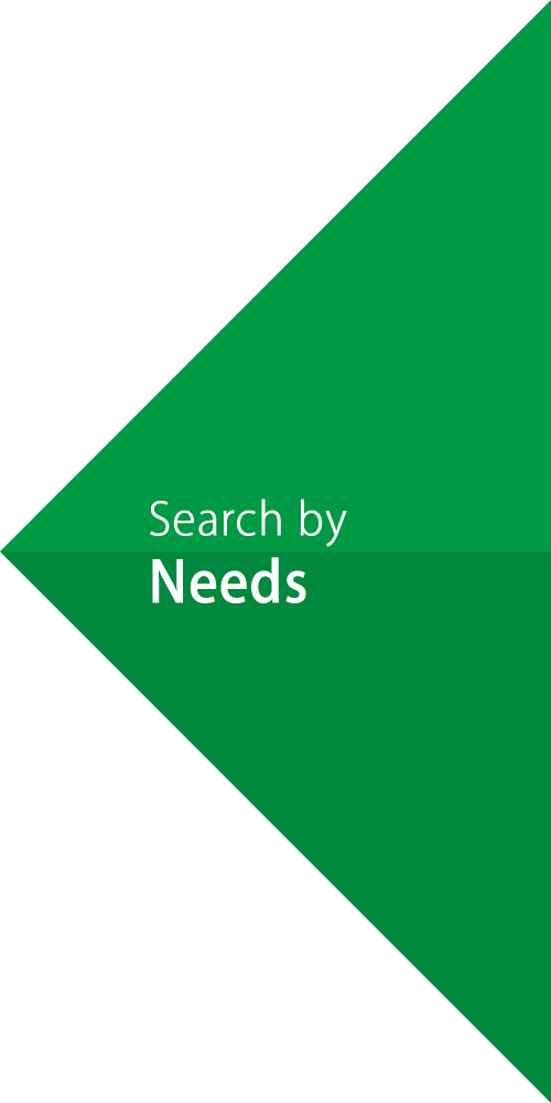 Search by Needs